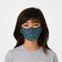 HARRY POTTER™ Artifacts Line Art Pattern Premium Face Mask