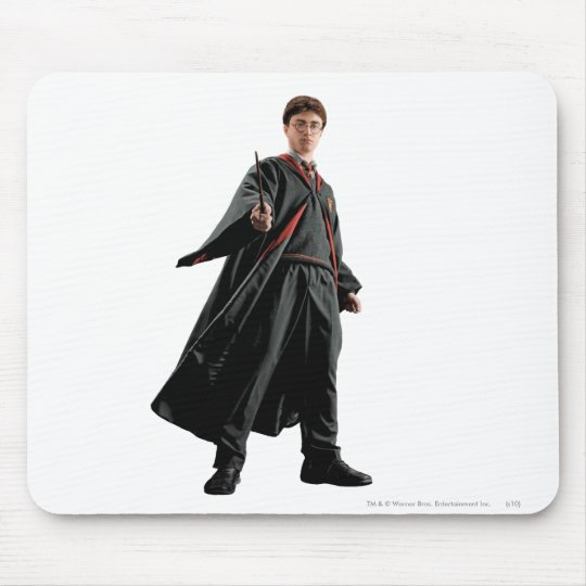 Harry Potter At The Ready Mouse Pad