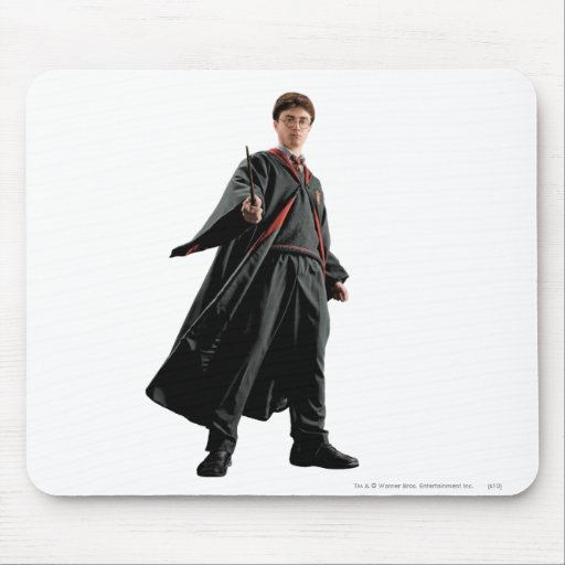 Harry Potter At The Ready Mousepads
