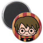Harry Potter Cartoon Character Art 2 Inch Round Magnet