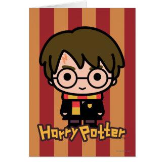 Harry Potter Cartoon Character Art Card
