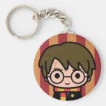 Harry Potter Cartoon Character Art Keychain
