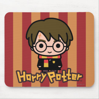 Harry Potter Cartoon Character Art Mouse Pad