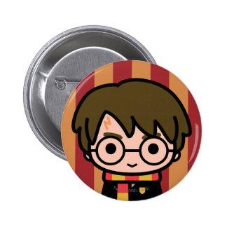 Harry Potter Cartoon Character Art Pinback Button