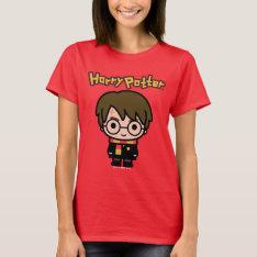 Harry Potter Cartoon Character Art T-Shirt at Zazzle