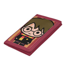 Harry Potter Cartoon Character Art Trifold Wallets at Zazzle