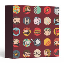 Harry Potter Cartoon Icons Pattern Binder