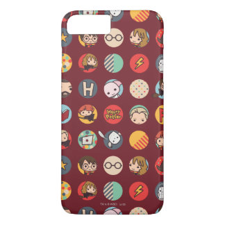 Harry Potter Cartoon Icons Pattern iPhone 8 Plus/7 Plus Case