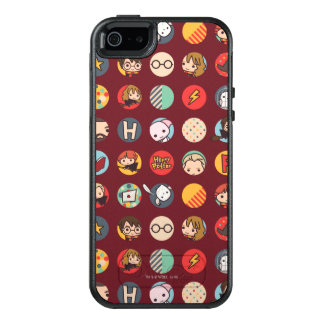 Harry Potter Cartoon Icons Pattern OtterBox iPhone 5/5s/SE Case