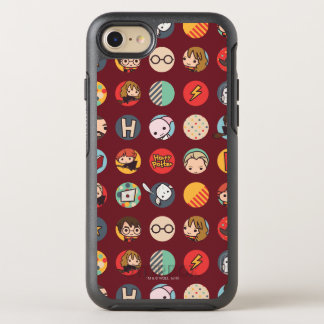 Harry Potter Cartoon Icons Pattern OtterBox Symmetry iPhone 7 Case