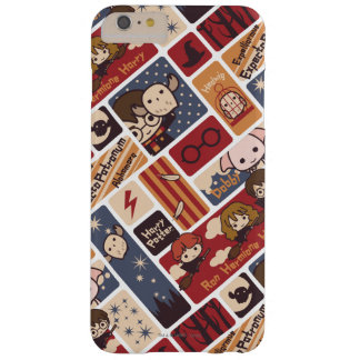 Harry Potter Cartoon Scenes Pattern Barely There iPhone 6 Plus Case