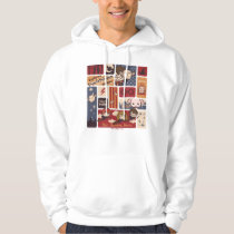 Harry Potter Cartoon Scenes Pattern Hoodie