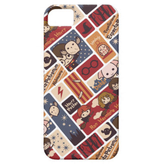 Harry Potter Cartoon Scenes Pattern iPhone SE/5/5s Case