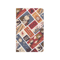 Harry Potter Cartoon Scenes Pattern Journal