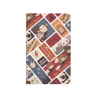Harry Potter Cartoon Scenes Pattern