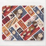 """Harry Potter Cartoon Scenes Pattern Mouse Pad<br><div class=""""desc"""">Check out this adorable cartoon scenes pattern depicting various characters and places from the &quot;Harry Potter&quot; story!</div>"""