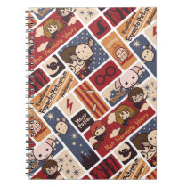 Harry Potter Cartoon Scenes Pattern Notebook