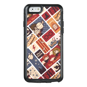 Harry Potter Cartoon Scenes Pattern Otterbox Iphone 6/6s Case by harrypotter at Zazzle