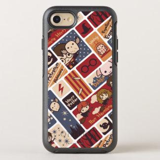 Harry Potter Cartoon Scenes Pattern OtterBox Symmetry iPhone 7 Case