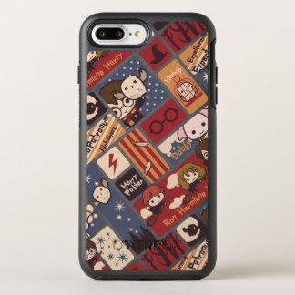 Harry Potter Cartoon Scenes Pattern OtterBox Symmetry iPhone 7 Plus Case