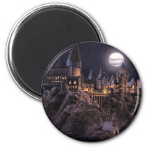 Harry Potter Castle   Great Lake to Hogwarts Magnet