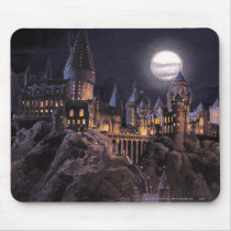 Harry Potter Castle   Great Lake to Hogwarts Mouse Pad