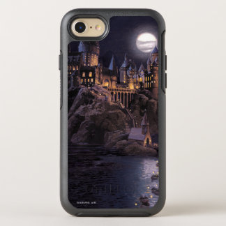 Harry Potter Castle | Great Lake to Hogwarts OtterBox Symmetry iPhone 8/7 Case