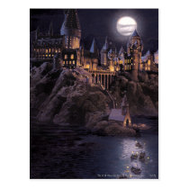 Harry Potter Castle | Great Lake to Hogwarts Postcard
