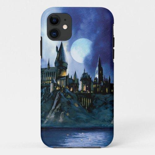 Harry Potter Castle | Hogwarts at Night Phone Case