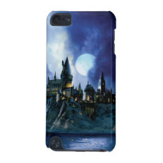 Harry Potter Castle | Hogwarts At Night Ipod Touch (5th Generation) Case at Zazzle