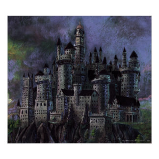 Harry Potter Castle | Magnificent Hogwarts Poster