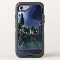 Harry Potter Castle | Moonlit Hogwarts OtterBox Defender iPhone 8/7 Case
