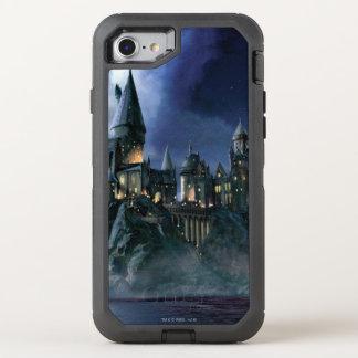 Harry Potter Castle | Moonlit Hogwarts OtterBox Defender iPhone 8/7 Case