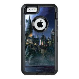 Harry Potter Castle   Moonlit Hogwarts OtterBox Defender iPhone Case