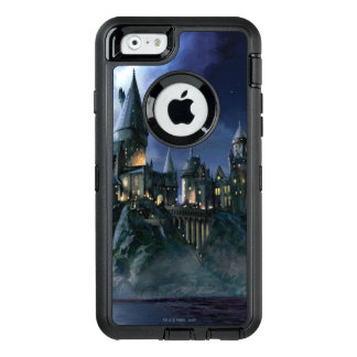 Harry Potter Castle | Moonlit Hogwarts OtterBox Defender iPhone Case