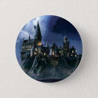 Harry Potter Castle | Moonlit Hogwarts Pinback Button