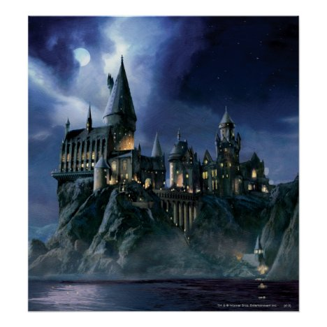 Harry Potter Castle | Moonlit Hogwarts