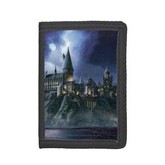 Harry Potter Castle   Moonlit Hogwarts Trifold Wallets