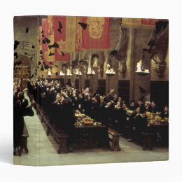 Harry Potter Castle | The Great Hall 3 Ring Binder