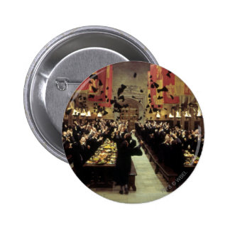 Harry Potter Castle | The Great Hall Pinback Button