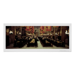 Harry Potter Castle | The Great Hall Poster