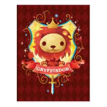 Harry Potter | Charming GRYFFINDOR™ Crest Postcard