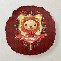 Harry Potter   Charming GRYFFINDOR™ Crest Round Pillow