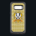 """Harry Potter   Charming HUFFLEPUFF™ Crest OtterBox Commuter Samsung Galaxy S8 Case<br><div class=""""desc"""">Check out this adorable kids storybook style watercolor graphic of the Hufflepuff House Crest,  featuring a cute badger on a shield with Hufflepuff's Cup!</div>"""