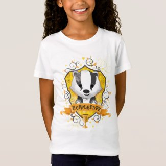 Harry Potter | Charming HUFFLEPUFF™ Crest T-Shirt