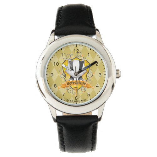 Harry Potter | Charming HUFFLEPUFF™ Crest Watch
