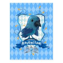 Harry Potter   Charming RAVENCLAW™ Crest Postcard
