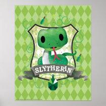 Harry Potter | Charming SLYTHERIN™ Crest Poster