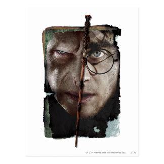 Harry Potter Collage 10 Postcard