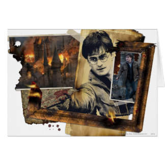 Harry Potter Collage 7 Card
